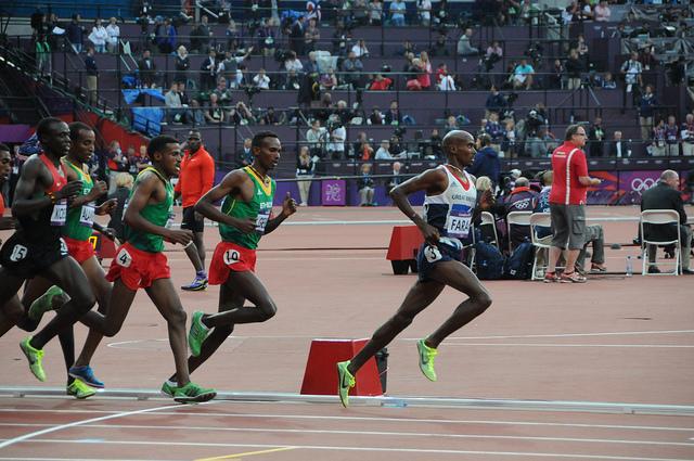 Mo Farah, 5000m OS 2012