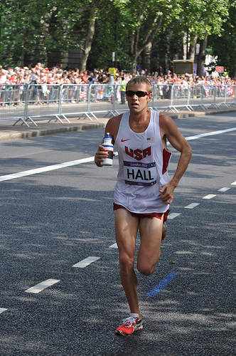 Ryan Hall London 2012 Olympics Marathon