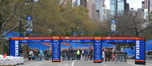 ING New York Marathon Finish Line