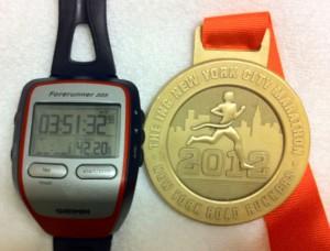 New York tid och medalj