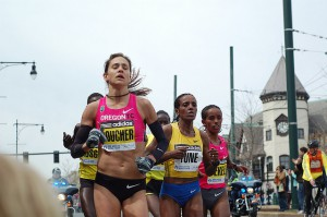 Kara Goucher - Boston Marathon