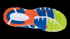 Blue/White/Neon Orange (kod: 4201) - Herr