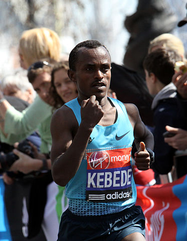 Tsegaye Kebede - 2013 Virgin London Marathon winner