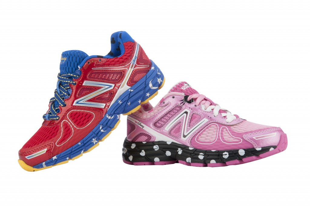 New Balance 860 v4 runDisney sorcerer Mickey Mouse & polka-dot Minnie Mouse