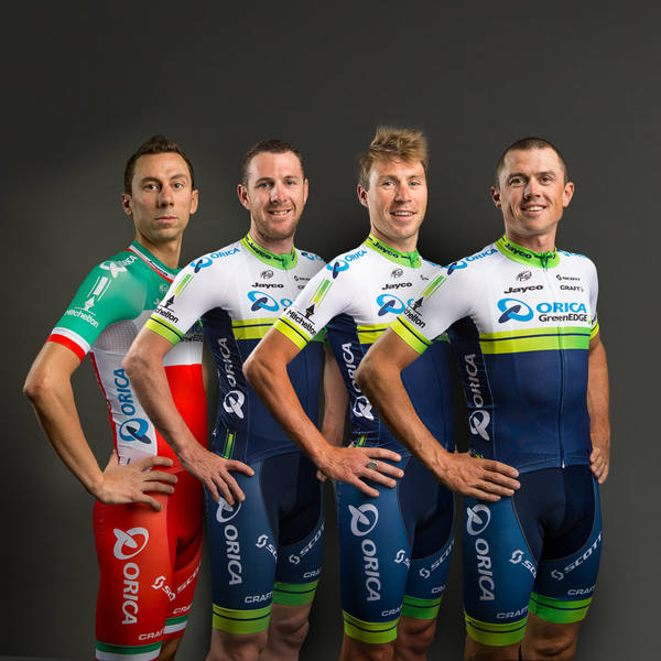 Orica-GreenEDGE Team kit 2014 från Craft