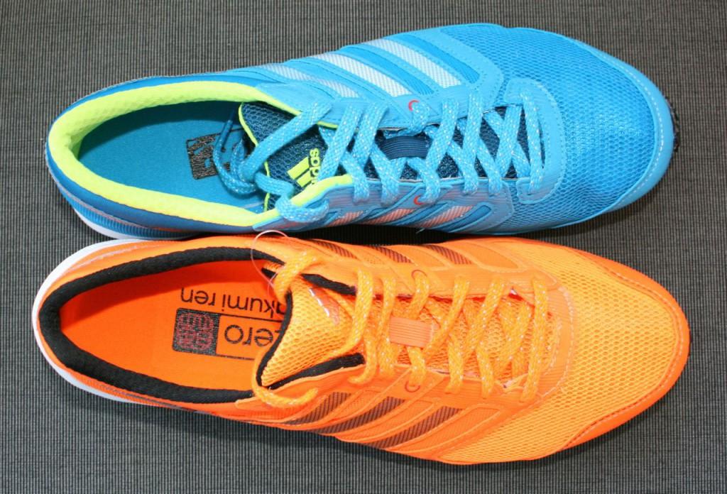 Adidas Takumi Ren 2 (orange) & Takumi Sen 2 (blå)