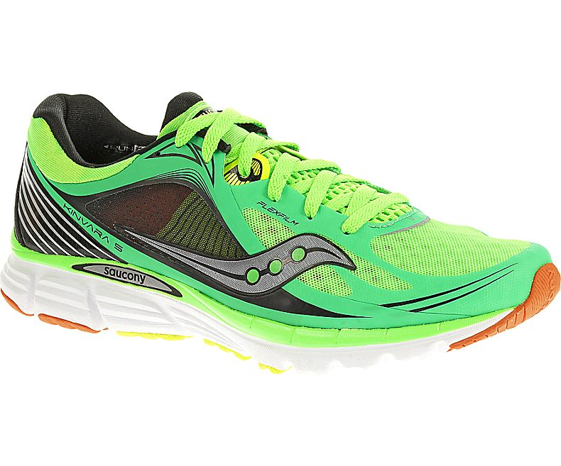 Saucony Kinvara 5 - herr 20238-2 Slime / Orange / Citron
