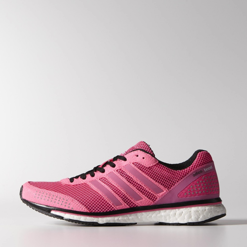 Adidas adizero Adios Boost 2.0 (M29709 - solar pink / core white / core white)