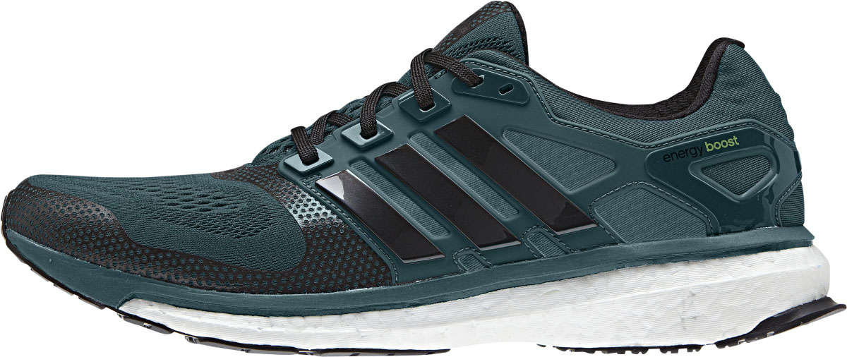 newest 06148 9c835 Adidas Energy Boost 2.0 ESM (herr) - Rich Green  Core Black  Solar