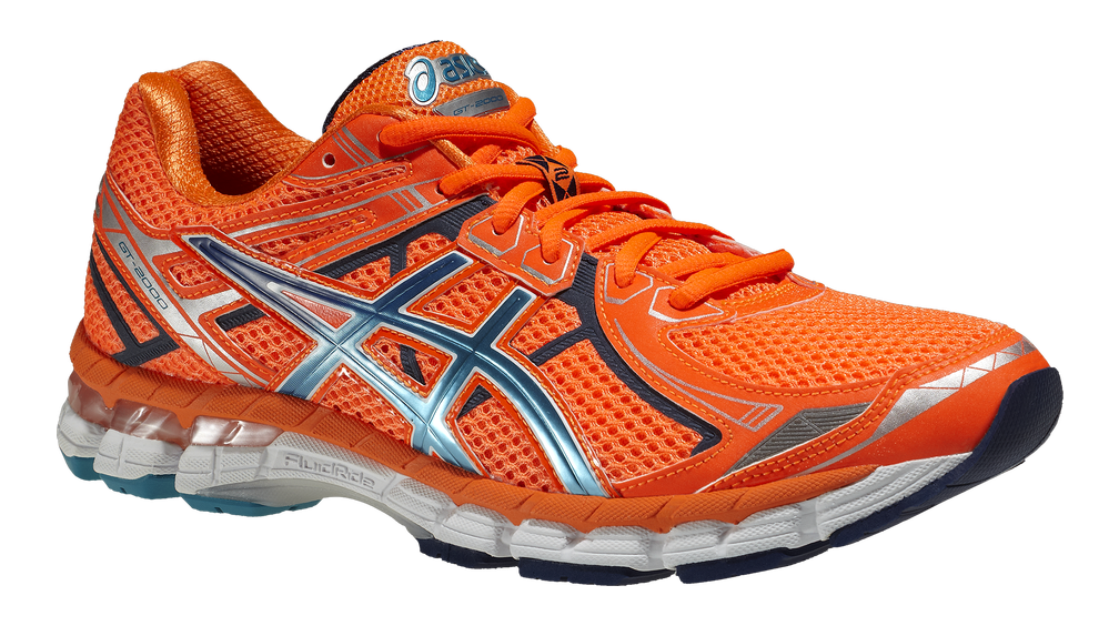 Asics GT-2000 2 - Herr - T34TQ-6742 - Flash Orange / Blue Frost / Navy