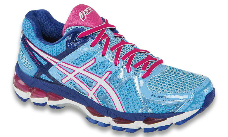 Asics Gel-Kayano 21 (T4H7N-4401) - Dam - Powdre Blue / White / Hot Pink