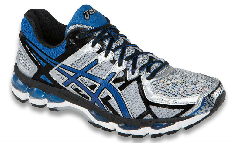 Asics Gel-Kayano 21 (T4H2N-9159)  - Herr - Lightning / Royal / Black
