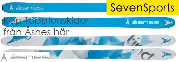 Reklam: Köp Topptursskidor från Åsnes hos SevenSports