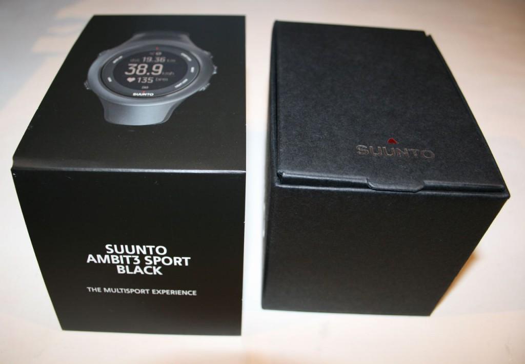 Suunto Ambit3 Sport Black - snyggt paketerad
