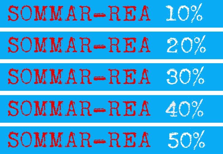 Sommar-REA 10-50% hos SevenSports.se