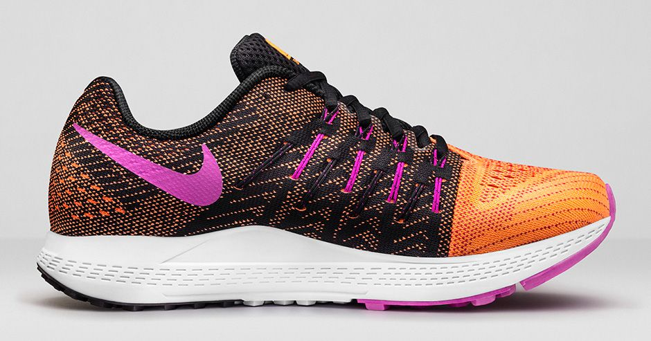 Nike Air Zoom Elite 8 (Dam) - Bright Citrus/Fuchsia Glow/Fuchsia Flash/Black - 748589-805
