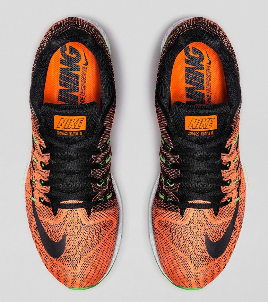 Nike Air Zoom Elite 8 (herr) - Total Orange/Ghost Green/Voltage Green/Black - 748588-803