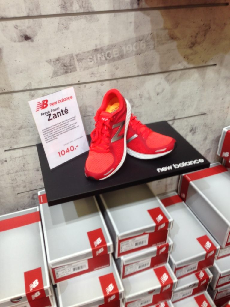 New Balance Zante är en av de skor jag är sugen på att testa